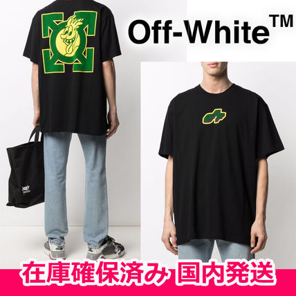 Off-White More T-Shirts Street Style T-Shirts
