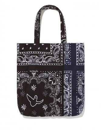 Mark Gonzales Totes Unisex Street Style Logo Totes 2