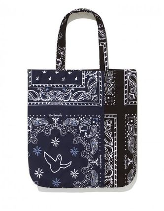 Mark Gonzales Totes Unisex Street Style Logo Totes 3