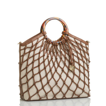 Brahmin Casual Style Elegant Style Formal Style  Logo Totes