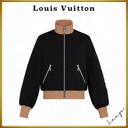 Louis Vuitton Monogram Unisex Plain Jackets