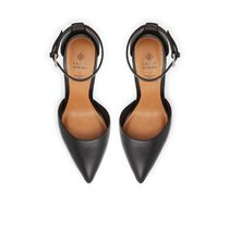 Call It Spring Pointed Toe Casual Style Faux Fur Blended Fabrics Plain Pin Heels 7