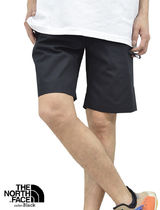 THE NORTH FACE Unisex Street Style Cotton Oversized Joggers Shorts