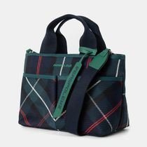 BEAN POLE Gingham Casual Style 2WAY Office Style Crossbody