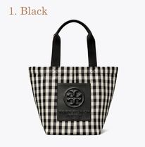 Tory Burch Gingham Tropical Patterns Casual Style Office Style