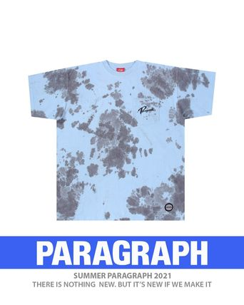 Paragraph More T-Shirts Unisex Street Style Short Sleeves Logo T-Shirts 2