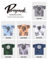 Paragraph More T-Shirts Unisex Street Style Short Sleeves Logo T-Shirts 10