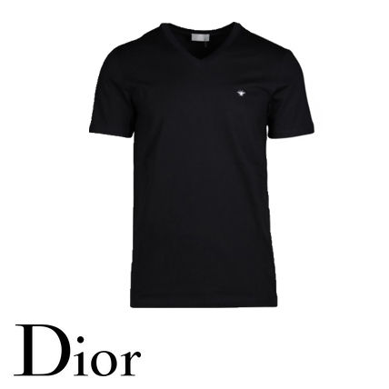 Christian Dior More T-Shirts Street Style Luxury T-Shirts