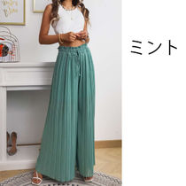 Casual Style Maxi Street Style Plain Long Party Style