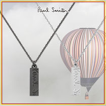 Paul Smith Unisex Chain Logo Necklaces & Chokers