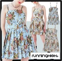 runningHIGH Casual Style Street Style Dresses