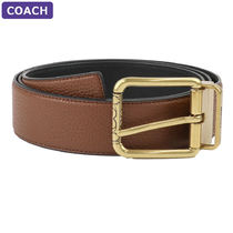 Coach Square Roller Buckle Cut-To-Size Reversible Belt, 38Mm