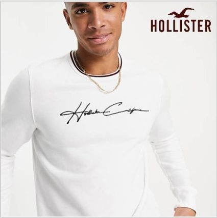 Hollister Co. More T-Shirts Street Style Logo T-Shirts
