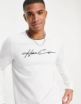 Hollister Co. More T-Shirts Street Style Logo T-Shirts 4