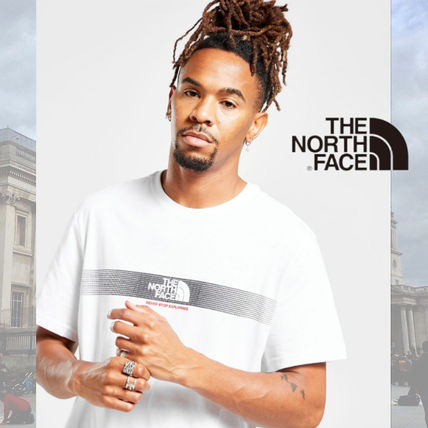 THE NORTH FACE More T-Shirts Unisex Street Style Cotton Short Sleeves Logo Outdoor