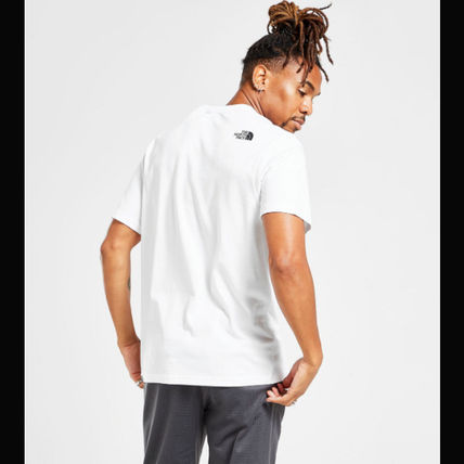 THE NORTH FACE More T-Shirts Unisex Street Style Cotton Short Sleeves Logo Outdoor 3