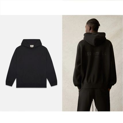 FEAR OF GOD ESSENTIALS Pullovers Unisex Sweat Street Style Long Sleeves Plain Logo