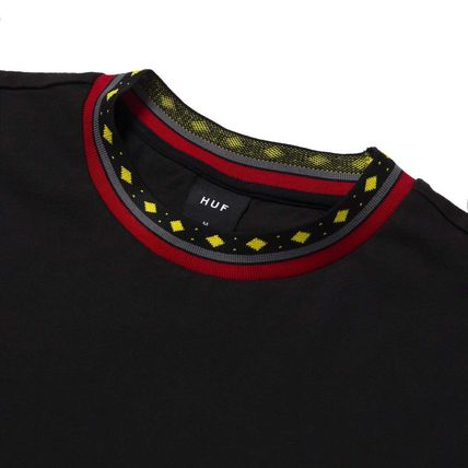 HUF More T-Shirts Street Style Short Sleeves Logo Skater Style T-Shirts 3