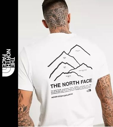 THE NORTH FACE More T-Shirts Short Sleeves Logo Outdoor T-Shirts
