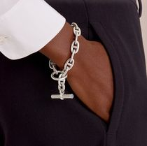 HERMES Chaine dAncre Casual Style Street Style Chain Party Style Silver