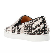 Christian Louboutin ROLLER BOAT Unisex Street Style Loafers & Slip-ons