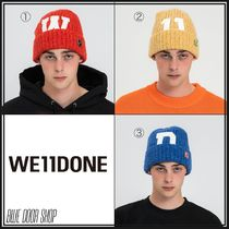 We11Done Unisex Street Style Knit Hats