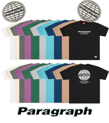 Paragraph More T-Shirts Unisex Street Style T-Shirts