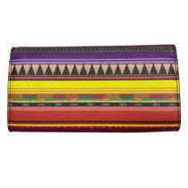 ETRO Leather Long Wallets