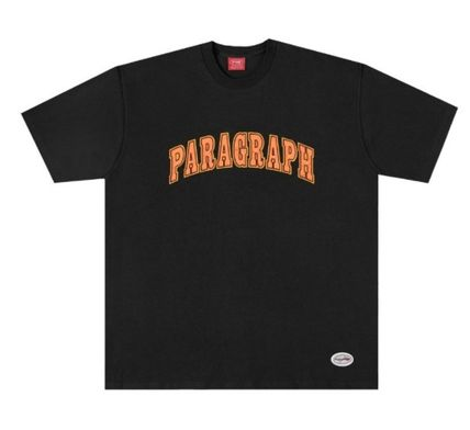Paragraph More T-Shirts Unisex Street Style Logo T-Shirts 3
