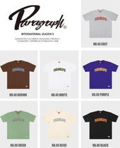 Paragraph More T-Shirts Unisex Street Style Logo T-Shirts 10