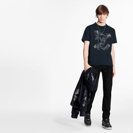 Louis Vuitton More T-Shirts Short Sleeves Luxury T-Shirts 3