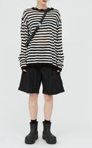 Raucohouse Sweaters Stripes Unisex Street Style Collaboration Long Sleeves Plain 4
