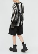 Raucohouse Sweaters Stripes Unisex Street Style Collaboration Long Sleeves Plain 6