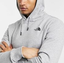 THE NORTH FACE Hoodies Pullovers Unisex Sweat Street Style Long Sleeves Plain 8