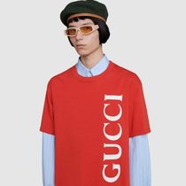 GUCCI T-Shirt With Gucci Blade Print