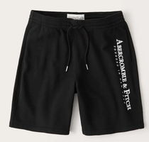 Abercrombie & Fitch Logo Printed Pants Sarouel Shorts