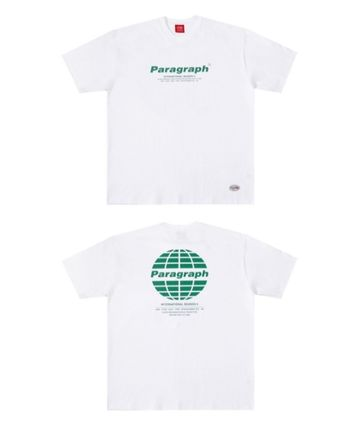 Paragraph More T-Shirts Pullovers Unisex Street Style U-Neck Cotton Short Sleeves 3