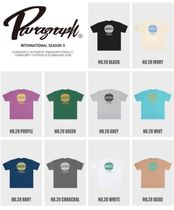 Paragraph More T-Shirts Pullovers Unisex Street Style U-Neck Cotton Short Sleeves 13