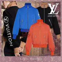 Louis Vuitton Casual Style Unisex Blended Fabrics Street Style Bi-color