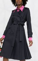 RED VALENTINO Long Elegant Style Trench Coats