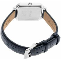 SEIKO Analog Casual Style Leather Metal Square Party Style Halloween 6