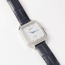 SEIKO Analog Casual Style Leather Metal Square Party Style Halloween 11