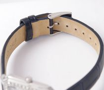 SEIKO Analog Casual Style Leather Metal Square Party Style Halloween 12