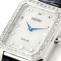 SEIKO Analog Casual Style Leather Metal Square Party Style Halloween 15