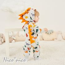 PatPat Front Button Unisex Halloween Baby Girl Dresses & Rompers