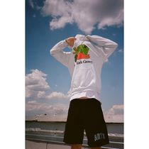 ONLY NY Hoodies Unisex Street Style Long Sleeves Cotton Skater Style Hoodies 5