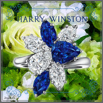 Harry Winston Casual Style Platinum Formal Style  Fine