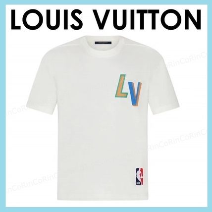 Louis Vuitton More T-Shirts Street Style Cotton Short Sleeves Logo Luxury T-Shirts