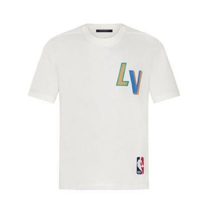 Louis Vuitton More T-Shirts Street Style Cotton Short Sleeves Logo Luxury T-Shirts 2