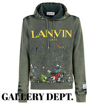 GALLERY DEPT. Hoodies Pullovers Street Style Collaboration Long Sleeves Cotton 4